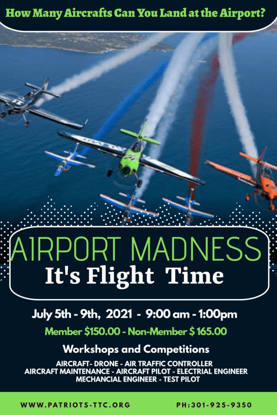 Summer Camp - Airport Madness