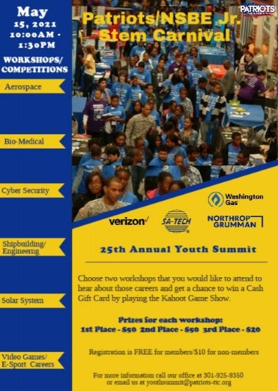 Patriots 25th Annual Youth Summit