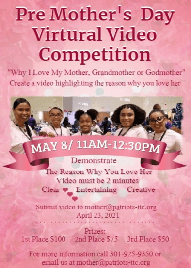 Pre-Mothers Day Video Competiton