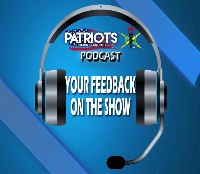 Podcast Feedback